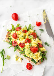Easy Salad Recipe by Healthy Egg Salad With Greek Yogurt And Dill