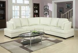 Tufted Sectionals Sofas by Khaki Leather Tufted Sectional Sofa Combination With Oval Tufted
