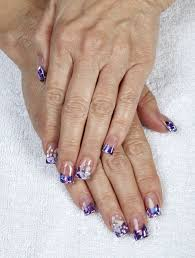 gel manicure from lt nails grove city