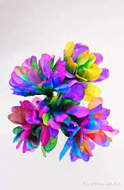 hello wonderful 10 colorful flower bouquets kids can make