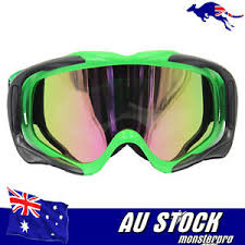 motocross goggles ebay green tinted lens dirt bike gear mx motocross moto x youth
