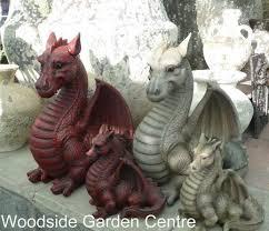 resin large garden ornament mystical woodside