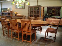 Wood Dining Room Chairs by Voorhees Craftsman Mission Oak Furniture Lifetime Furniture
