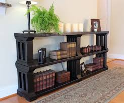 rustic book shelf or tv stand 13 steps with pictures