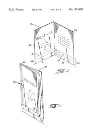 patent usre33680 reusable greeting card google patents