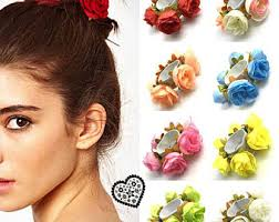 flower hair band flower hair band etsy