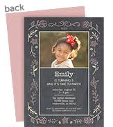 custom birthday invitations personalize with cardstore