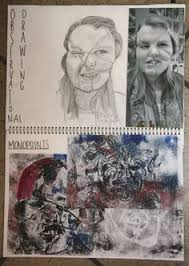 gcse sketchbook page 2014 art 02 pinterest sketchbooks