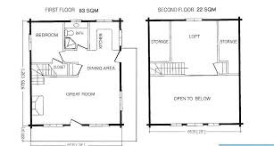 one bedroom cabin floor plans cabin house plans with loft cabin house floor plan with loft small