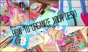 How To Keep Your Desk Organized How To Organize Your Desk