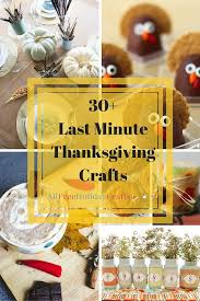 30 last minute thanksgiving craft ideas allfreeholidaycrafts