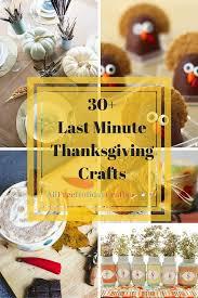 30 last minute thanksgiving craft ideas allfreeholidaycrafts