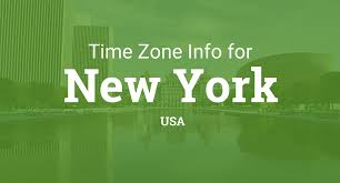 Usa Time Zones Map by Time Zones In New York United States