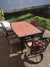 Glass Table Top For Patio Furniture Our Table Took Flight In A Strong Wind The Glass Shattered And