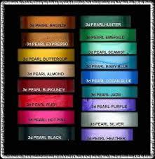 17 pearls colors nail art designer dab it 3d paint