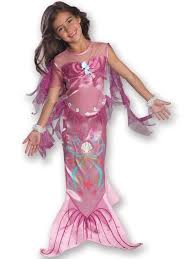 Mermaid Halloween Costume Kids Child Age 5 7 Pink Mermaid Fancy Dress Costume
