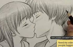 how to draw people kissing video lessons of drawing u0026 painting