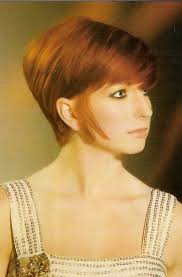 wedge cut for fine hair stacked short hair