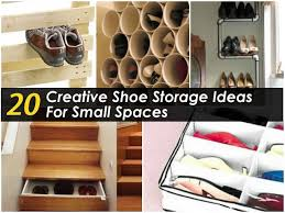 storage ideas for small bedrooms 20 creative shoe storage ideas for small spaces pcos