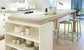 ilot cuisine sur mesure ilot cuisine sur mesure beau table ilot central cuisine 3