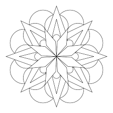 simple mandala mandalas coloring pages coloring book