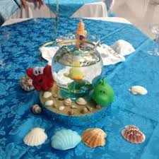the sea baby shower centerpieces in stock and ready to