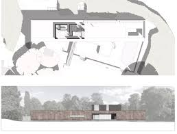 Elevation Floor Plan Gallery Of Private House Strom Architects 3