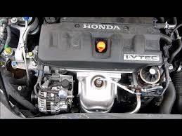 Honda Engines Specs 2007 Honda Civic 1 8 Engine 40 588 Youtube