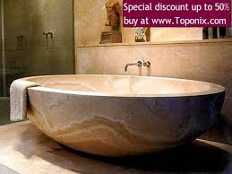 stone bathtub stone sink 282 youtube