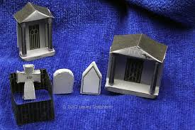miniature halloween village free printable micro mansard halloween glitter houses