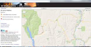 Bc Wildfire Live Map by Boundary Grand Forks Tv