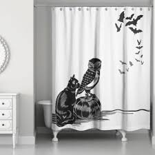 Black White Shower Curtain Buy Shower Curtain From Bed Bath Beyond