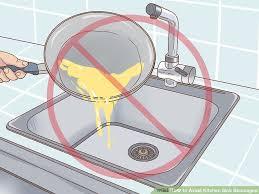 Kitchen Sink Blockage 3 Ways To Avoid Kitchen Sink Blockages Wikihow
