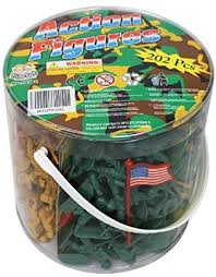 amazon com army men action figures 202 pieces with american