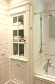 White Linen Cabinets For Bathroom Built In Bathroom Vanity Cabinet Bathroom Linen Cabinet And Tub