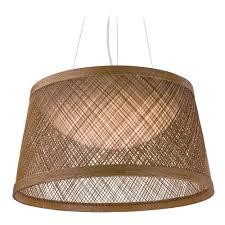 maxim lighting bahama natural led pendant light with empire shade