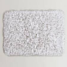 White Bathroom Rugs Ideas 3x5 Bathroom Rugs Pertaining To Artistic White Fuzzy Area