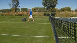 eagle man builds grass tennis court in his backyard ktvb com