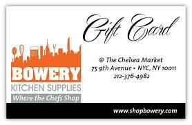 Kitchen Supply Store Nyc by Kitchen Gift Cards