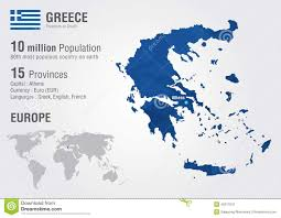 Greece On Map by Greece On World Map Roundtripticket Me