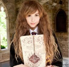 harry potter hermione harry potter hermione granger corn hot long brown wavy cosplay wig