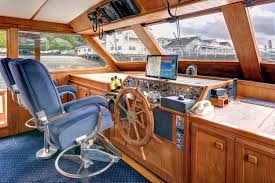 83 Gallon Deck Box by Luxury Yacht Yachts For Sale Brokerage Fleming Yacht Corvette