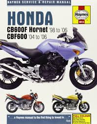 honda cb600f hornet service and repair manual haynes service and