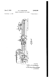 patent us2640369 feedbox transmission for lathes google patents