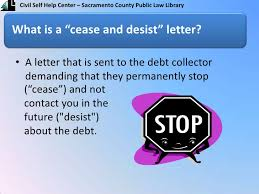 cease and desist letter english