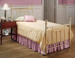 Brass Bed Frames Hillsdale Furniture 1035btwr Chelsea Bed Set With