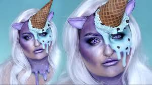 ice cream unicorn w jordan hanz halloween costume makeup