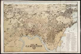 Mass Map City Of Cambridge Mass Norman B Leventhal Map Center