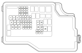 mazda 3 2012 u2013 2013 u2013 fuse box diagram auto genius