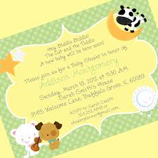 Baby Welcome Invitation Cards Templates Baby Shower Invite Rhymes Theruntime Com